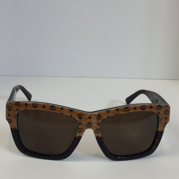 47b907a247877 New MCM607SA 258 brown black logo print sunglasses. Boutique. MCM